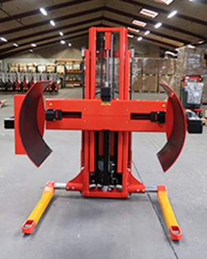 Samples custom-built products, Multi drum turner for the handling of large coils